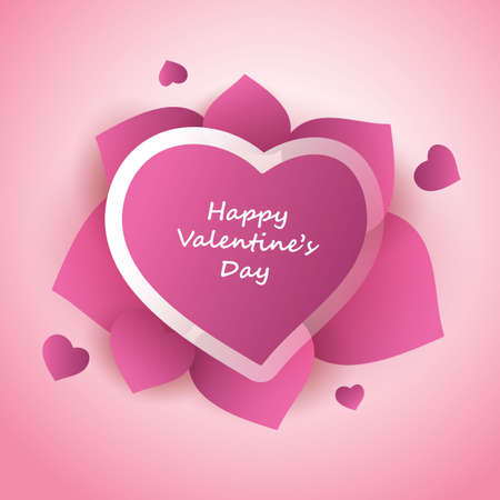 Valentines Day Card Stock Vector - 12030168
