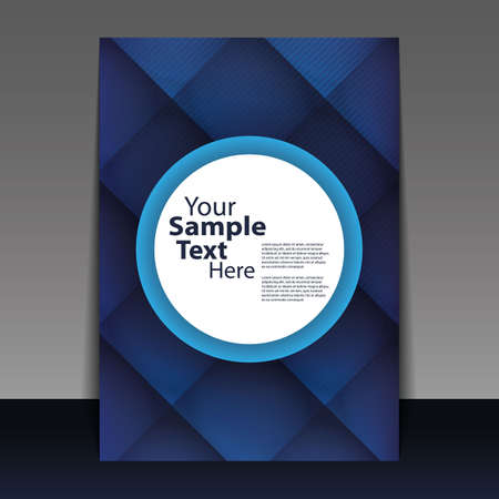 cover design: Abstract Flyer or Cover Design  Illustration
