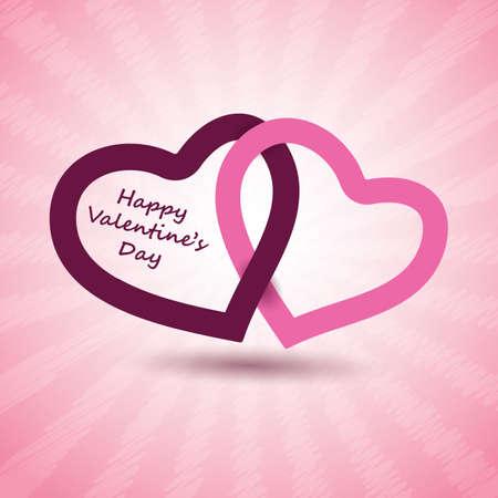 honeymoon couple: Valentines Day Card