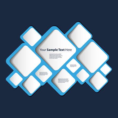 cuadrados: Burbuja del discurso abstracto