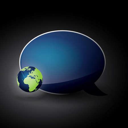 Eco Speech Bubble
