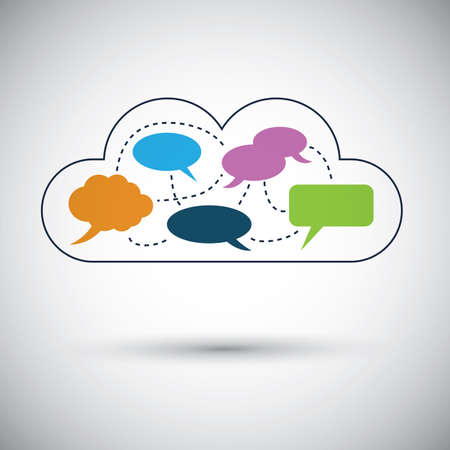 social system: Cloud computing concept design