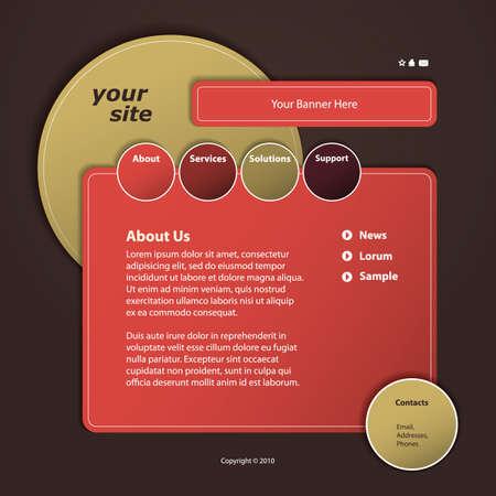 sidebar: Website Template