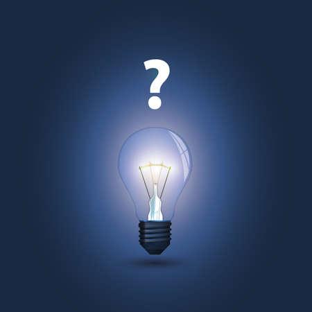 Bulb concept Vector