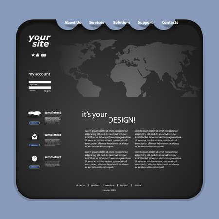 Website Design Stock Vector - 12958389
