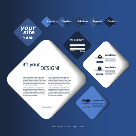 blog design: Website Design