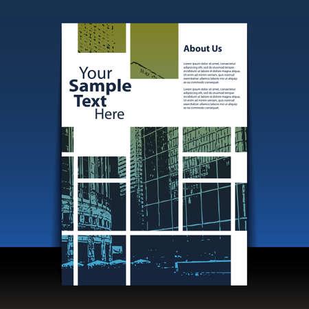 portadas: Flyer o dise�o de la cubierta Vectores