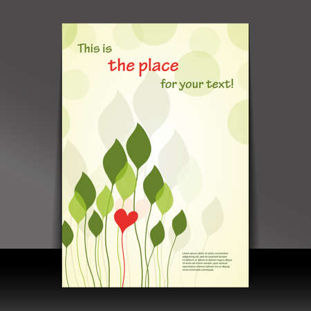 Flyer or Cover Design Vector
