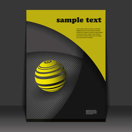 file folders: Flyer or Cover Design