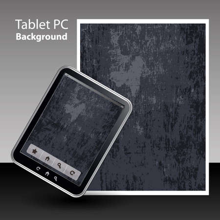 Tablet PC Background  Stock Vector - 13302122