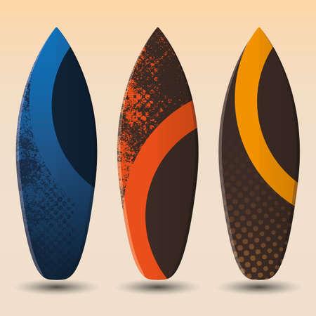 big waves: Surfboards Design