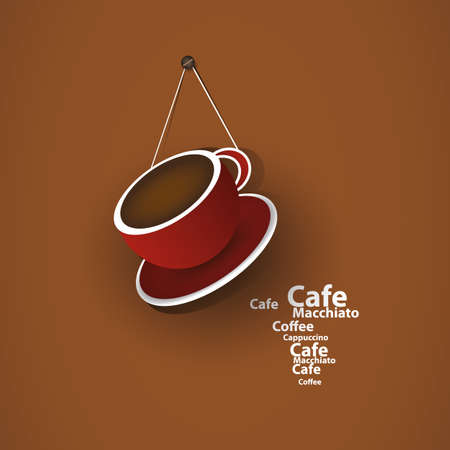 Coffee Cup Concept Vector