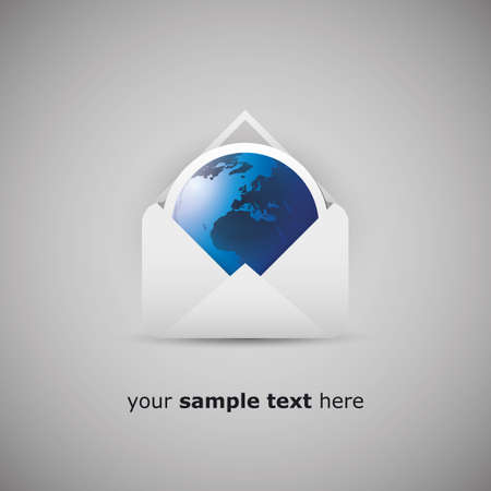 Message from an envelope Vector