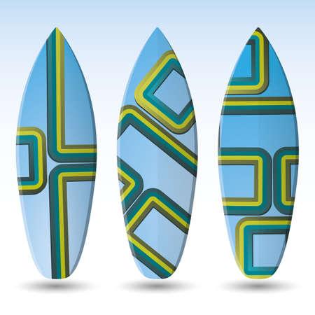 Vector Surfboards Design Vector