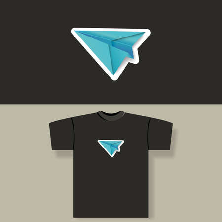 T-shirt print Stock Vector - 13547080
