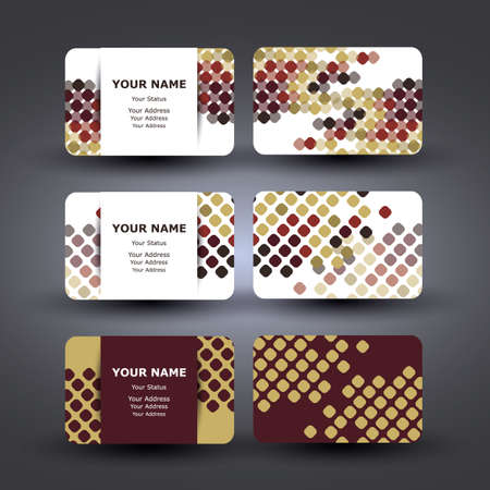 claret: Business Cards Design