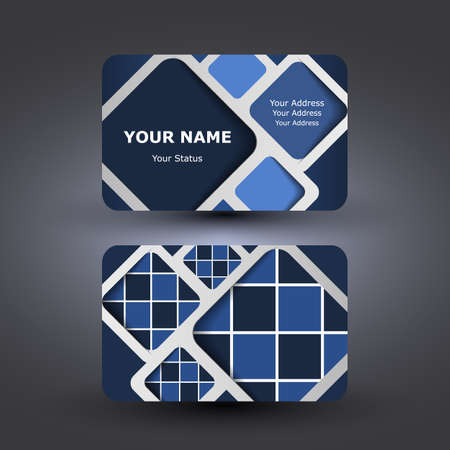 Business Card Template Stock Vector - 13925770