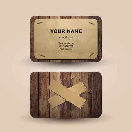Business Card Design Stock Vector - 14078800