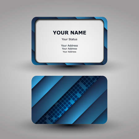 Business Card Template Stock Vector - 13999720