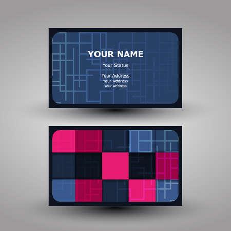 Business Card Design Stock Vector - 13967183