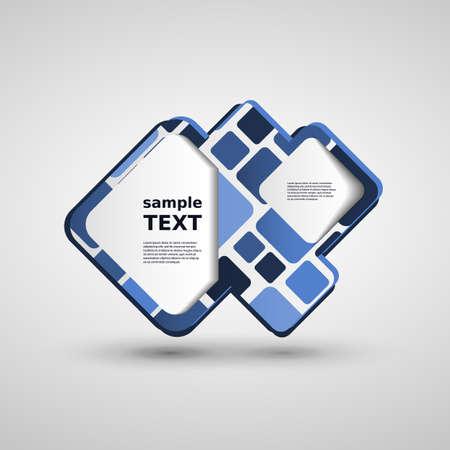 3d text: Speech Bubble