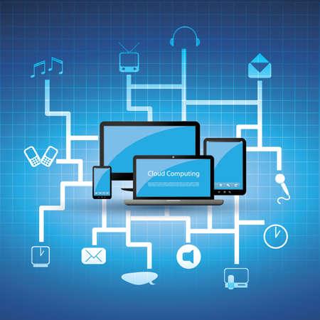 infraestructura: Concepto de computación en la nube