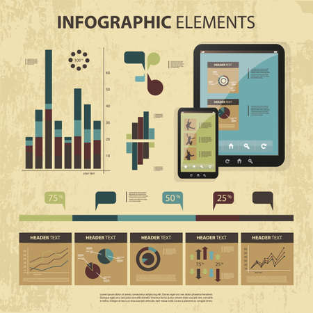 set of infographic elements Stock Vector - 14213732