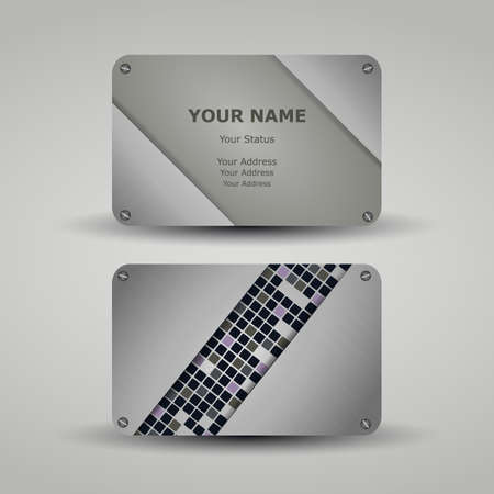 Business Card Template Stock Vector - 14382031