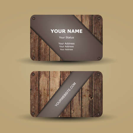 picture card: Business Card Template Illustration