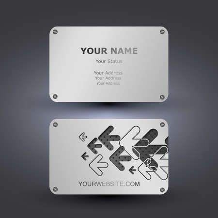 Business Card Template Stock Vector - 14366006