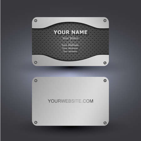 business card background: Business Card Template Illustration
