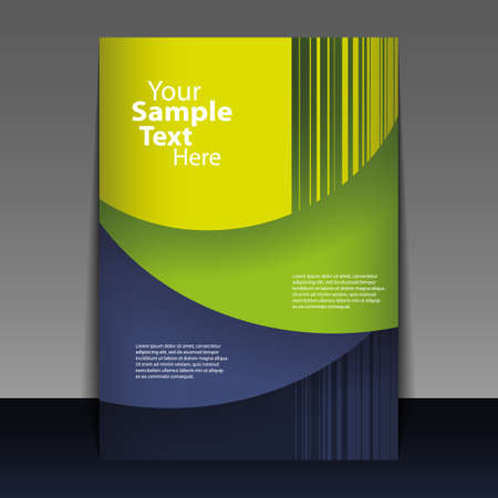 Abstract Flyer of Cover Design