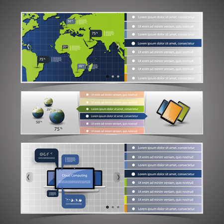 Web Design Elements Stock Vector - 14412583