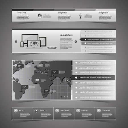 Web Design Elements Stock Vector - 14382043