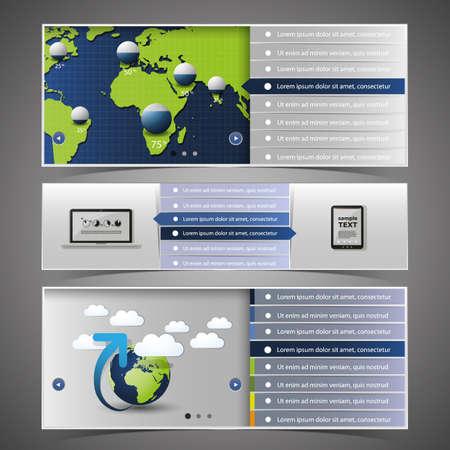 Web Design Elements Stock Vector - 14399865