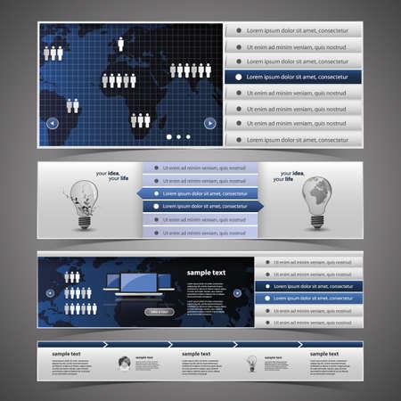 Web Design Elements Stock Vector - 14574026
