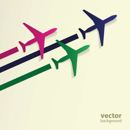 airline: Airplanes Background