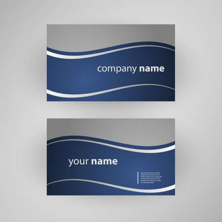 business name: Business Card Template Illustration