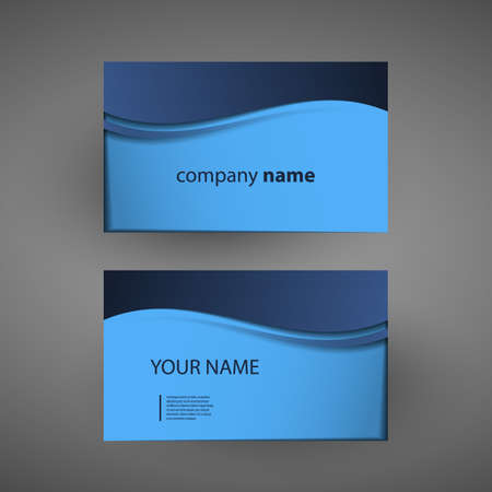 Business Card Template Stock Vector - 14683435