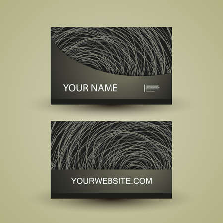 Business Card Design Stock Vector - 15245097