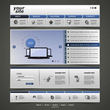 web site design template: Website Design