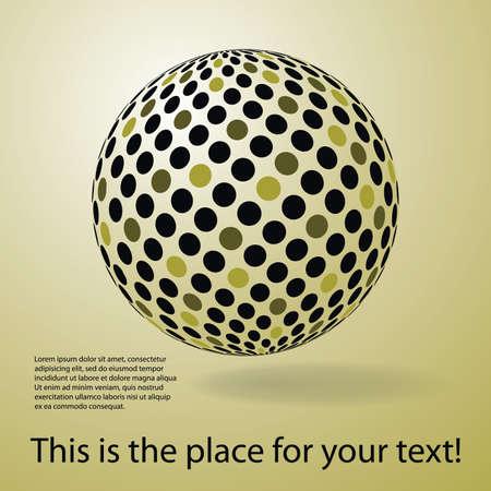 overlapping: Digital globe design