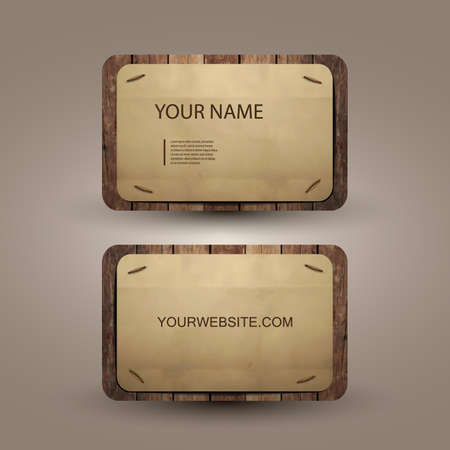 bright card: Business Card Design