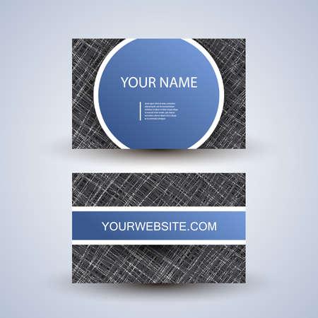 Business Card Design Stock Vector - 14775990
