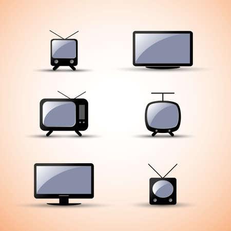 tv retro: Web Design Elements