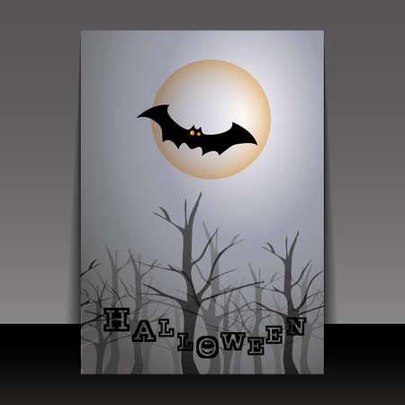 Halloween Flyer or Cover Design Stock Vector - 15338073