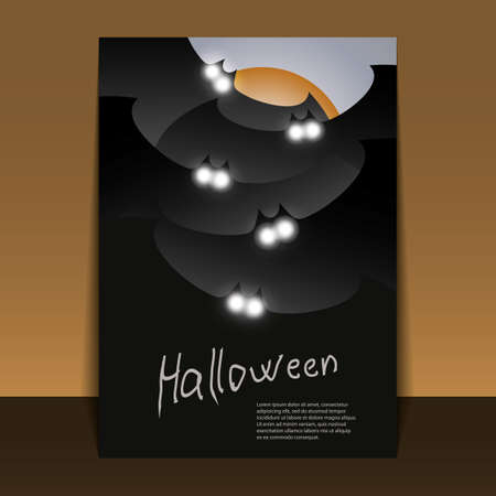 Halloween Flyer or Cover Design Stock Vector - 15323335