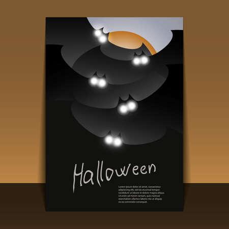 Halloween Flyer or Cover Design Stock Vector - 15323335