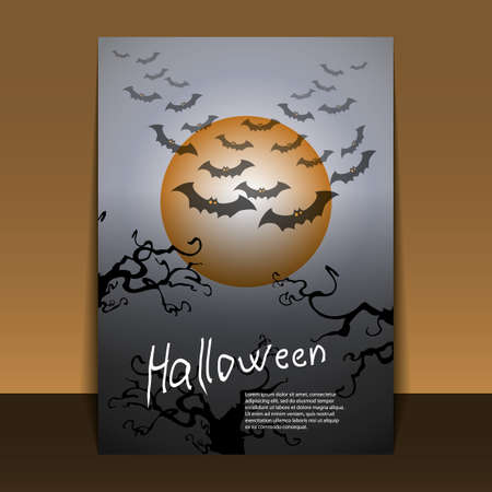 Halloween Flyer or Cover Design Stock Vector - 15309782