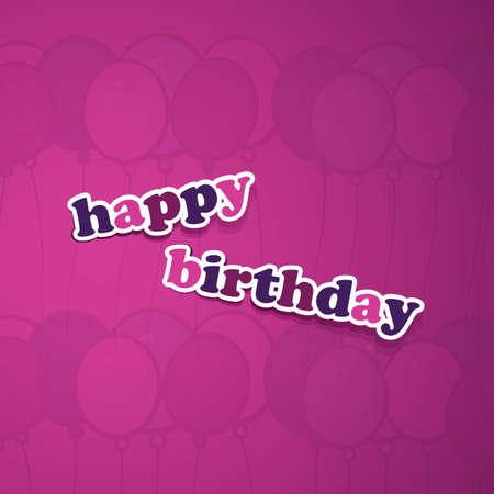 Birthday Card, Flyer or Cover Design Stock Vector - 15548589